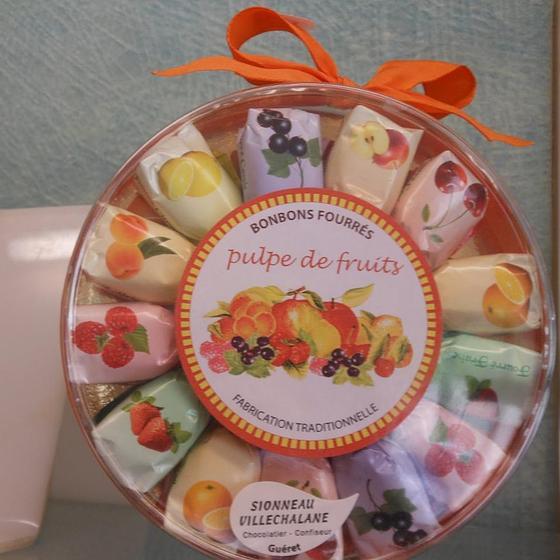 Des Bonbons aux fruits de Guéret | Villechalane-Sionneau
