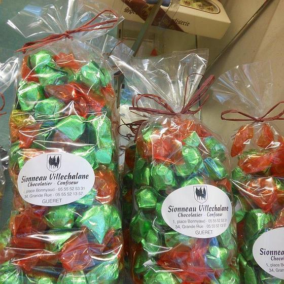 Les Bonbons aux fruits de Guéret | Villechalane-Sionneau